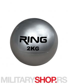 Sand Ball fitnes lopta 2kg Ring