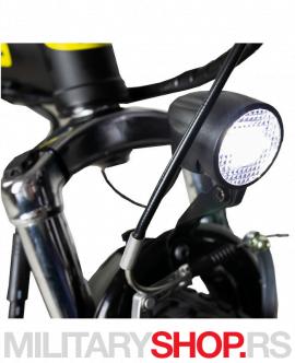 Električni bicikl sklopivi Ring RX16 crni 2