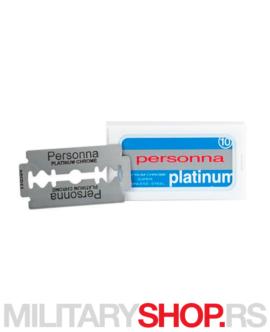Personna 10 Platinum pakovanje žileta