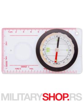 Kompas sa lupom i lenjirom Dingo-33107