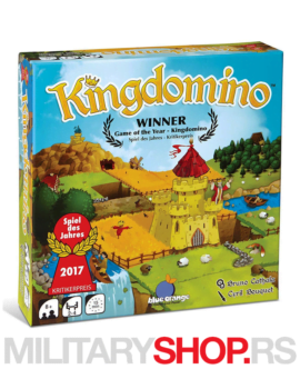 Društvena igra Kingdomino na srpskom