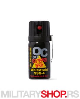Biber sprej OC5000 40ml Mlaz 6m