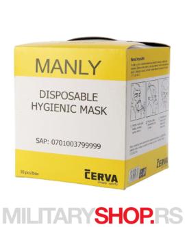 Maska za lice Manly Cerva
