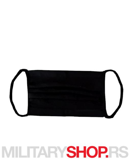 Crna pamučna zaštitna maska za lice Terminator
