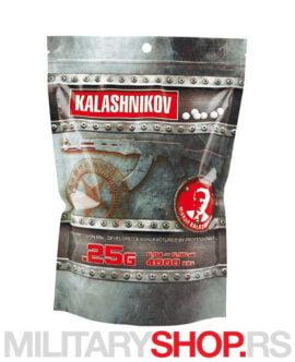 BB kuglice 0.25g 4000 Kalashnikov