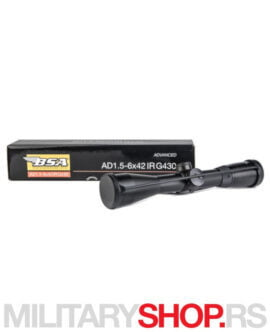 Optički nišan BSA AD 1.5-6x42 IRG4