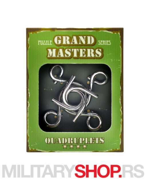 Metalna mozgalica Grand Master Quadruplets