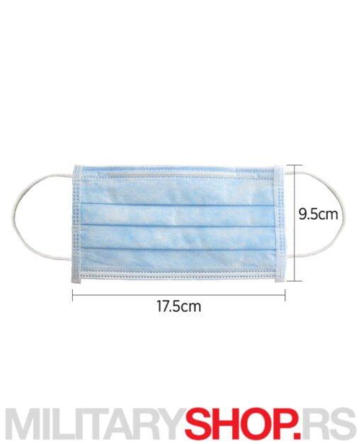 DFM jednokratne zaštitne maske u pakovanju od 50 komada