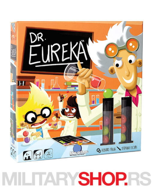 Dečija društvena igra Dr Eureka