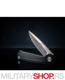 Preklopni nož ANV Z100 crni frame-lock