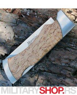 Preklopni nož od brezinog drveta Marttiini-MBL