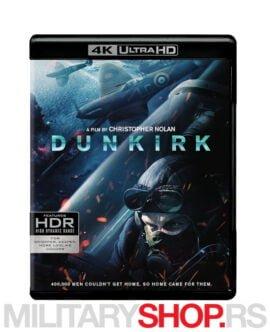 Dunkirk 4K UHD film Kristofera Nolana