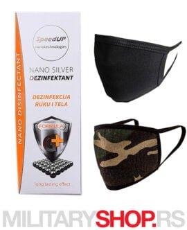 Jedinstvene u svetu Nano Silver maske