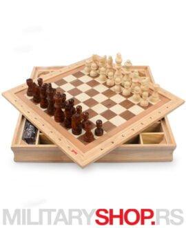 Set društvenih igara: šah dama mica