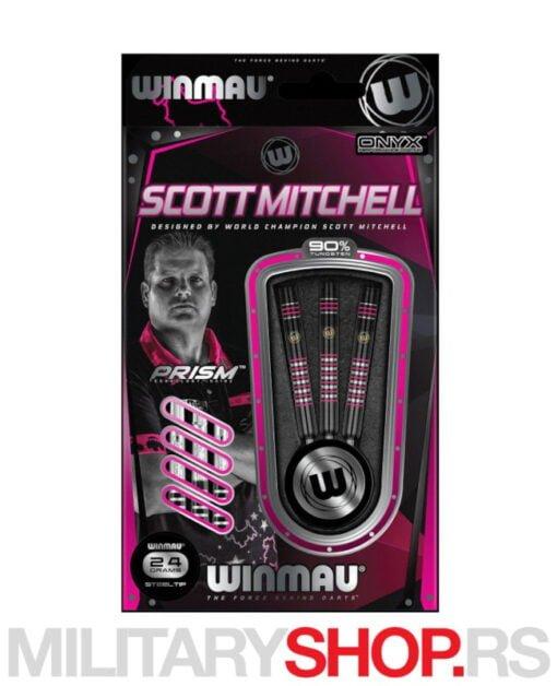 Pikado strelice Scott Mitchell Steeldart