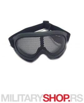 Airsoft mrežaste naočare crne boje