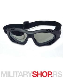 Zaštitne naočare za airsoft zelene