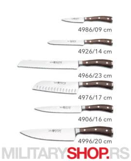 Kuhinjski set 6 noževa Wusthof Ikon