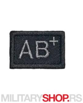 Amblem krvna grupa AB pozitivna