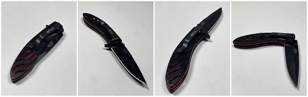Nož na preklop Zvezda MTECH MT-A993BK