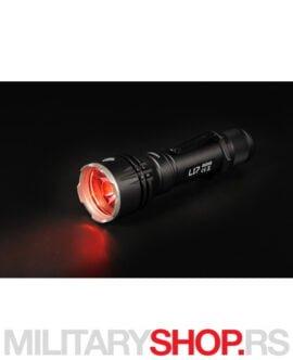 Lovačka lampa Acebeam L17 crveno svetlo