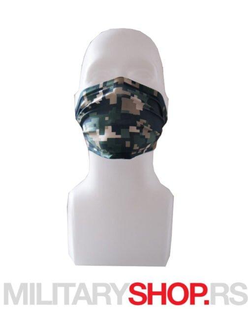 Superfaca mini bandana digital maskirna šara