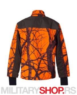 Lovačka jakna sa fluo detaljima K25