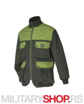 Lovačka jakna sa ojačanjima zelena K84