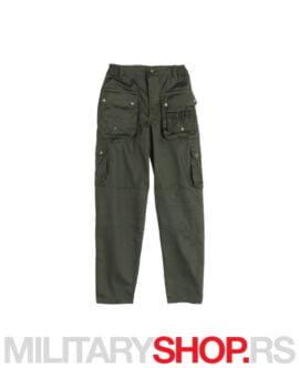 Lovačke pantalone sa redenikom zelene K1