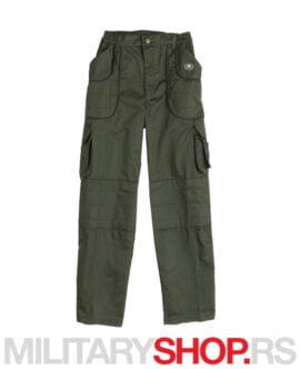 Lovačke pantalone maslinasto zelene boje K2