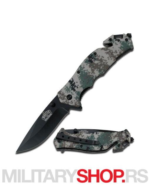 Preklopni nož Woodland kamuflaža Master MU-A001DG
