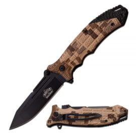Preklopni taktički nož Desert kamuflaža MU-A040DG
