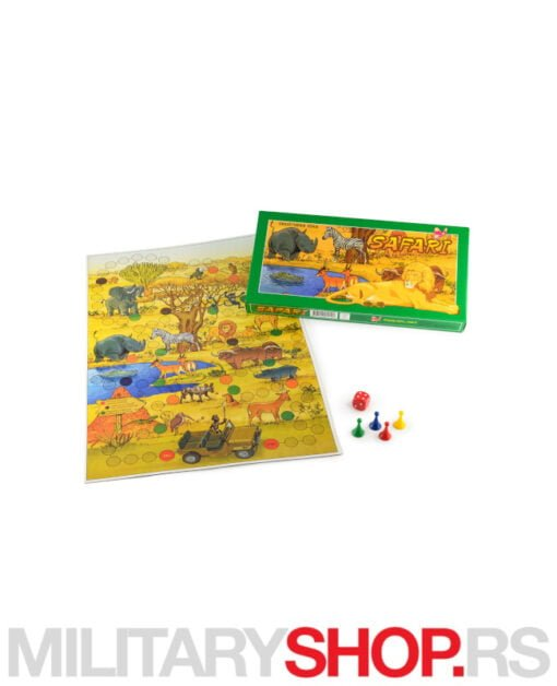 Društvena igra za decu Safari