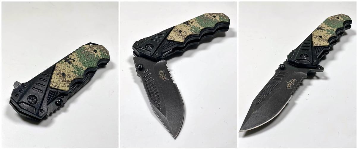 Taktički Kamuflažni Nož Master MU-A025DG