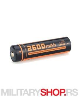 Punjiva baterija Fitorch Li-ion 18650 2600mAh
