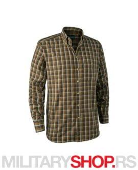 Muška košulja braon karirana Deerhunter 8911