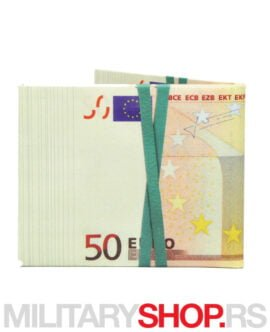 Novčanik sa dizajnom Evro novčanice Walart