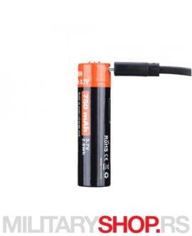 Punjiva baterija Fitorch Li-ion 14500 750mAh