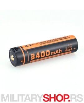 Punjiva baterija micro-USB port Fitorch Li-ion 18650