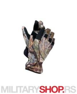Vodootporne lovačke rukavice kamuflažne Hart Zeta