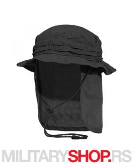 Kalahari šešir sa zaštitom za vrat Pentagon crni