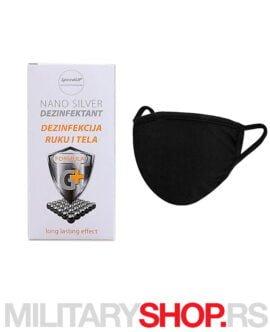 Kombo nano silver dezinfektant 80 ml i 40 pamučnih viškratnih maski