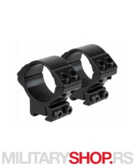 Nosači optike Hawke 9-11 mm Med 25.4