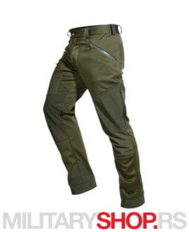 Lovačke pantalone maslinasto-zelene Hart Urko