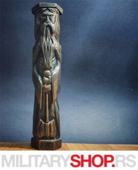 Srpske Rune - Statua Perun
