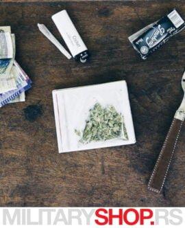 Papirni novčanik Zelena flora Walart