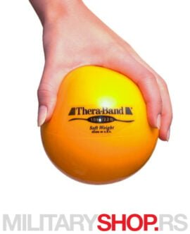 Loptasti teg Žuti 1kg TheraBand Soft-Weight