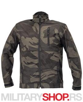 Aktivna maskirna jakna Crambe Dark-Camo