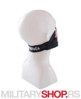 Mini bandana crna Superfaca Jigsaw