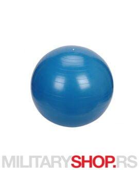 Fitnes lopta plava 75cm MSD AB
